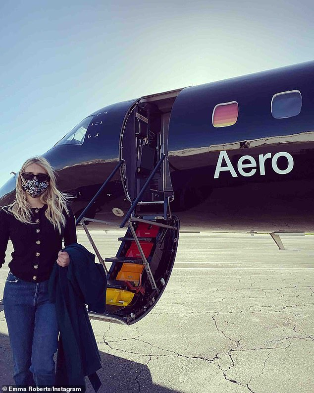 'Seamless flight': The niece of Julia Roberts took a 'smooth and easy' $1,250 'semi-private' plane flight each way courtesy of her paid partnership with Aero