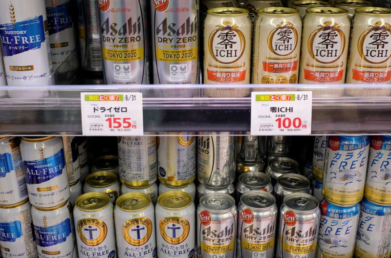 Analysis: A sobering strategy for pandemic times: Japan brewers bank on alcohol-free beer boom