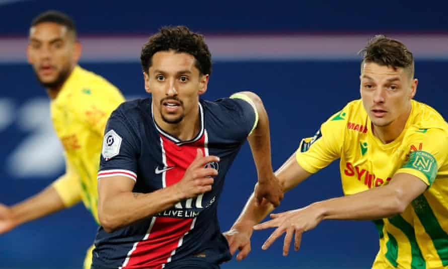 Marquinhos has said his parents' home was also targeted by robbers on Sunday evening.