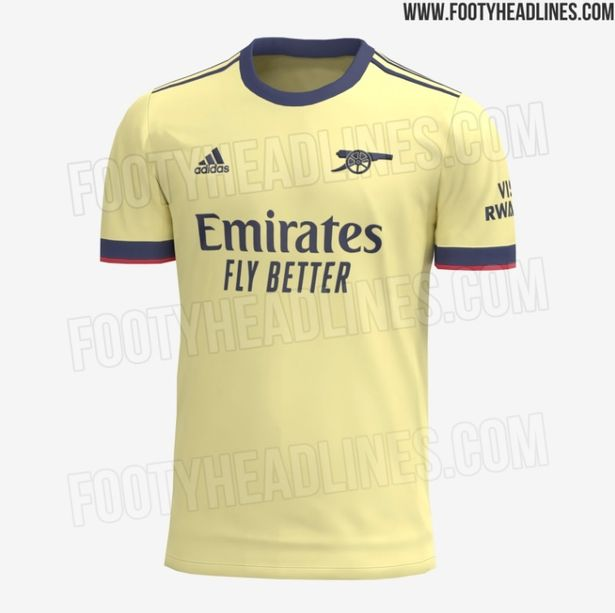 Arsenal's new away kit has been 'leaked' online