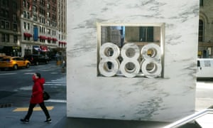 888 7th Ave, a building that reportedly houses Archegos Capital in New York City