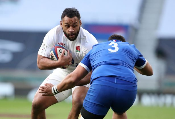 Vunipola charges into France prop Mohammed Haouas ...