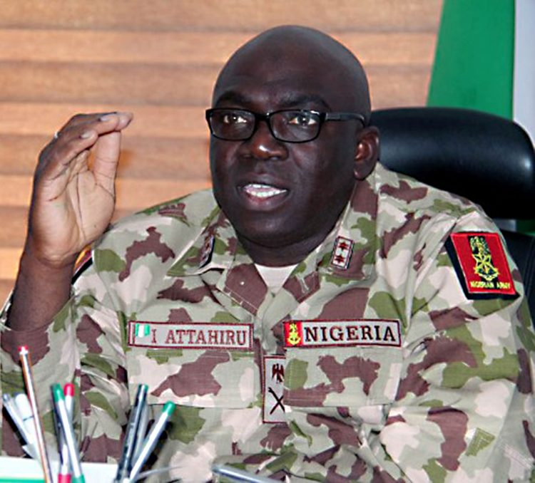 Chief of Army Staff, Lieutenant General Attahiru Ibrahim: Army speaks on protest by soldiers