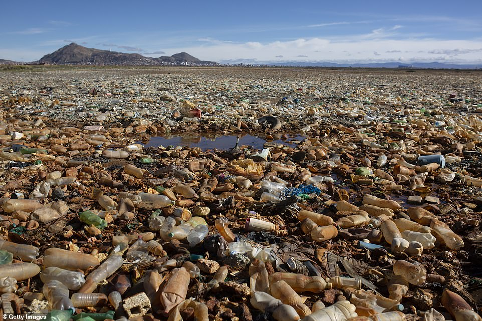 Lake Uru Uru was once an oasis of natural beauty full of thriving wildlife, but it has become a waterless basin full of plastic bottles and other man-made waste in recent years