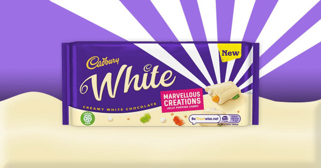 White chocolate marvelous creations