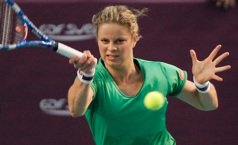 Clijsters faces more time on sidelines, but not quitting