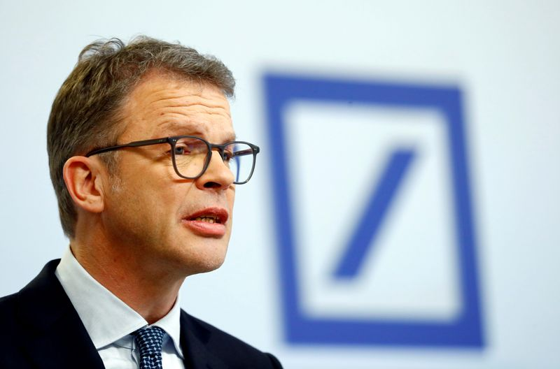 Deutsche Bank CEO gives up oversight of investment bank in revamp