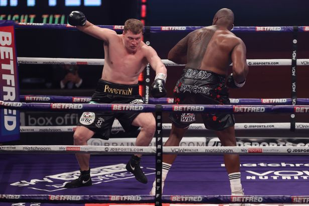 Whyte dominated Povetkin