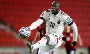 Belgium's Romelu Lukaku was on the scoresheet again in Belgium's draw with the Czech Republic.
