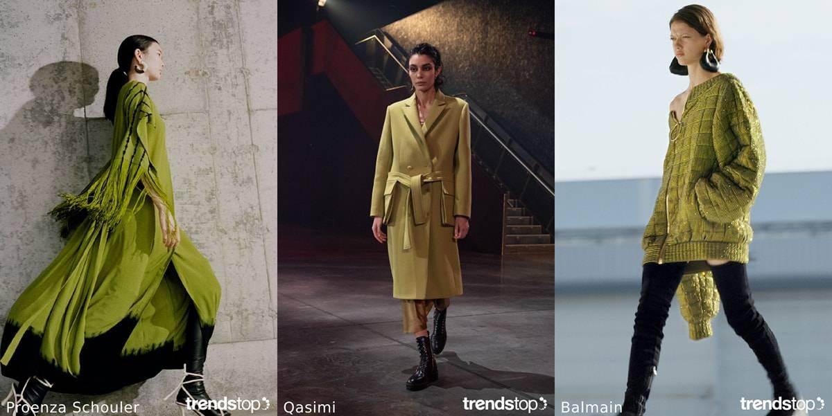 FW21: Womenswear color trends