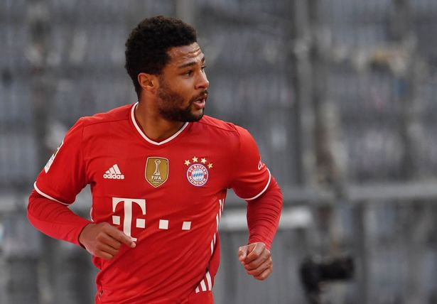 Serge Gnabry has selected an all-star line-up as his dream XI