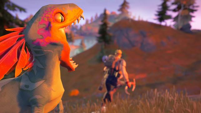 Fortnite raptor dinosaur