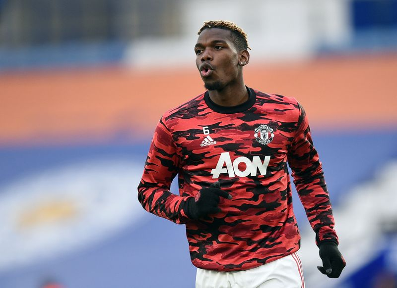 France's Pogba needs time to hit top gear, says Deschamps