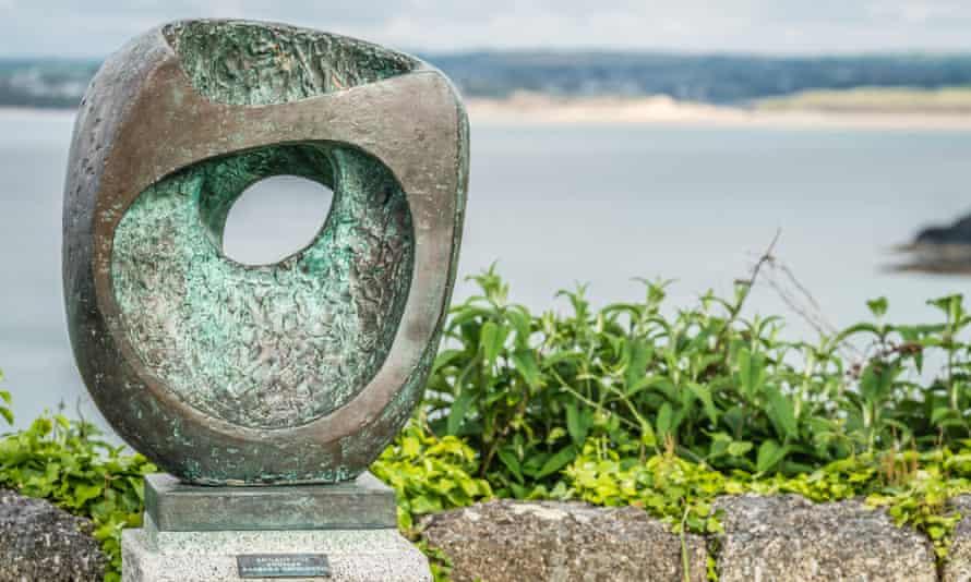 Void eyed ... Barbara Hepworth's Epidauros II in Cornwall.