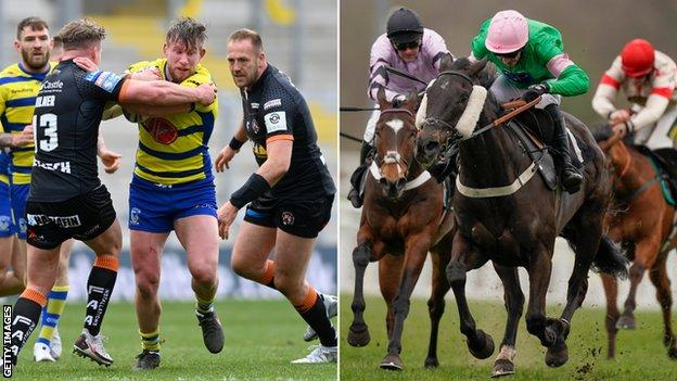 Rugby League and horse racing will both get loan support funding from the government