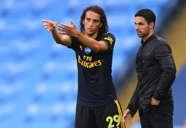 The relationship between Matteo Guendouzi and Mikel Arteta is thought to be beyond repair