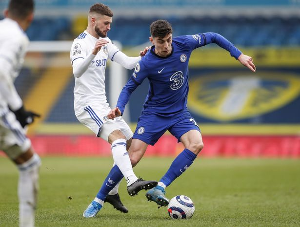 Kai Havertz played as a false nine in Chelsea's draw with Leeds