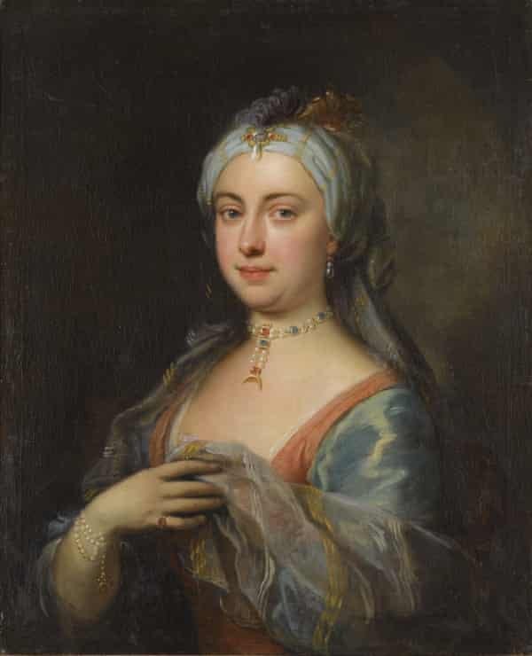 Lady Mary Wortley Montagu, painted by Joseph Highmore