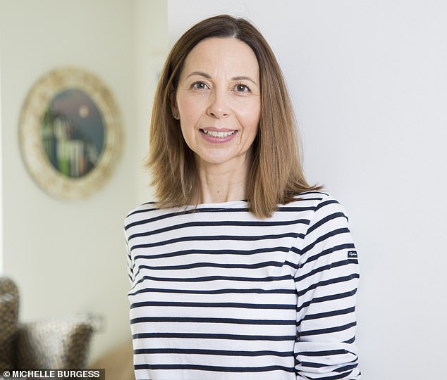 Michelle Burgess, 53, from Whitstable, Kent, who runs Scruffy Little Terrier, started on testosterone cream in October and no longer has low libido, brain fog or anxiety