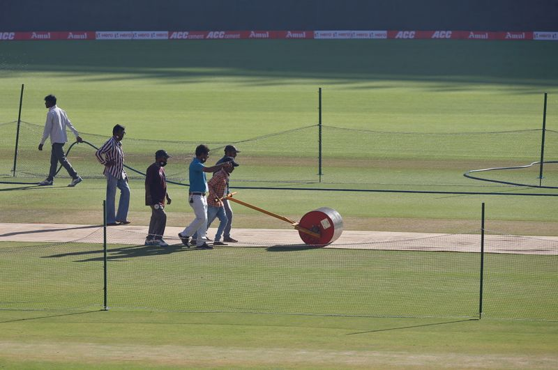 ICC rates Ahmedabad pitch for two-day test match 'average'