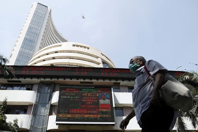 India shares higher at close of trade; Nifty 50 up 2.19%