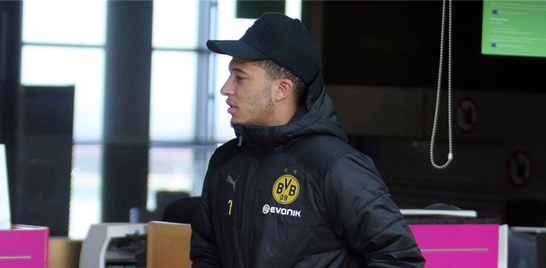 Jadon Sancho has an unusually close bond to Manchester United