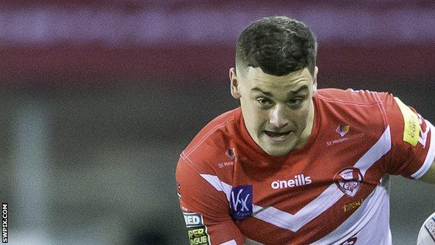 Josh Simm has scored three tries in seven senior appearances for St Helens