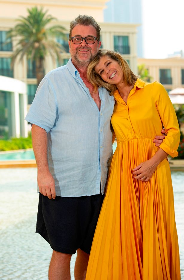 Kate Garraway with husband Derek Draper