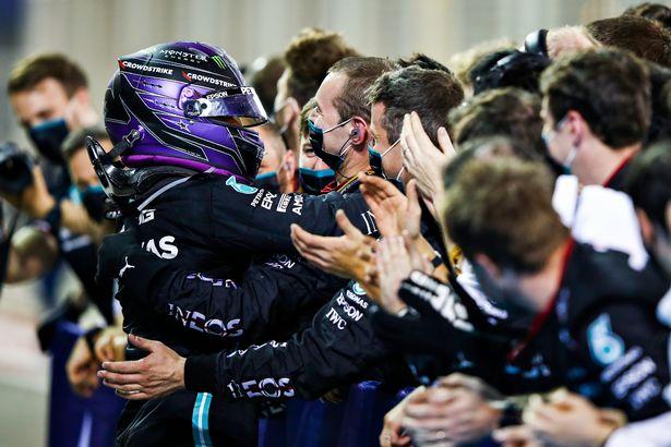 Hamilton held off Max Verstappen in Bahrain