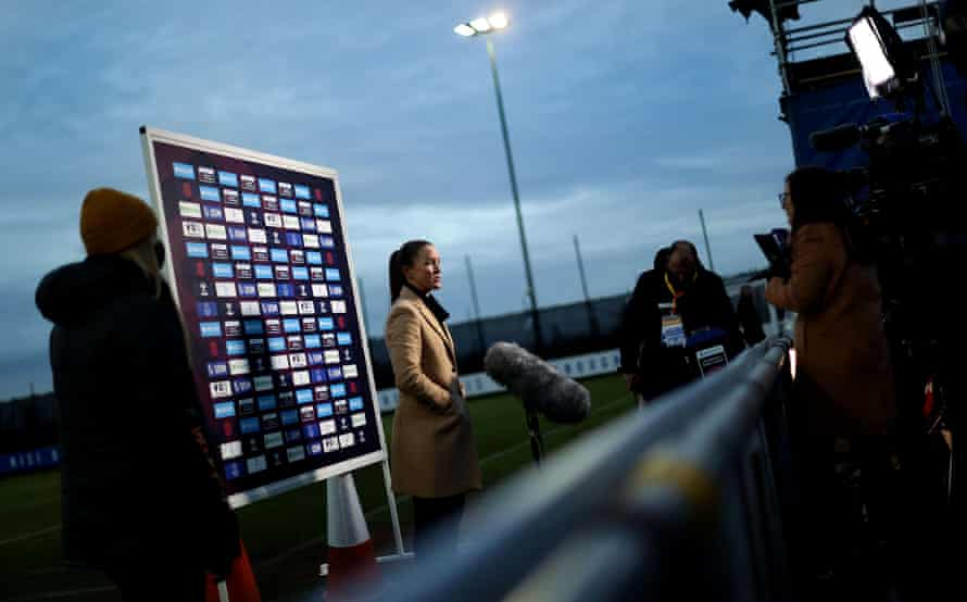 Casey Stoney says it is a 'real shame' Manchester United cannot show the game on club channels.