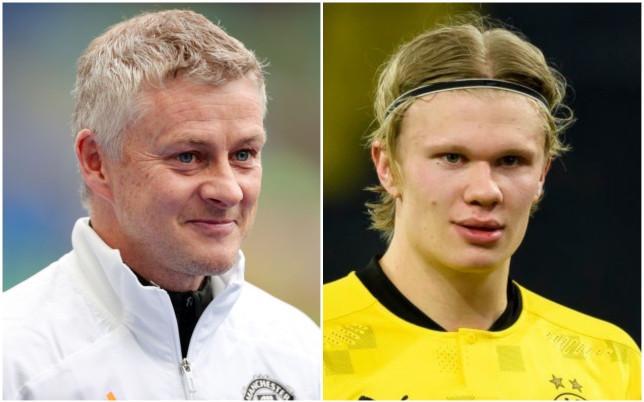 Manchester United manager Ole Gunnar Solskjaer says Dortmund striker Erling Haaland has a 'top personality'