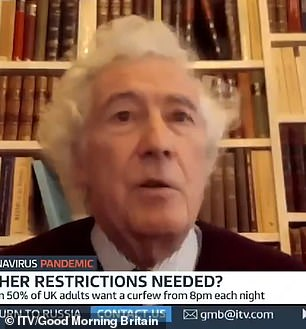 Lord Sumption warned face masks and social distancing restrictions could be in place for years - like rationing after WW2