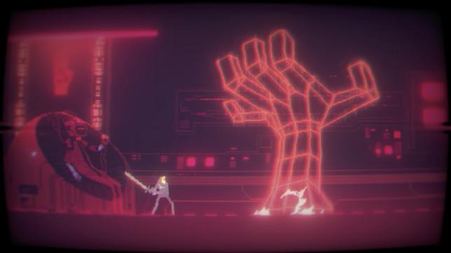 Narita Boy screenshot