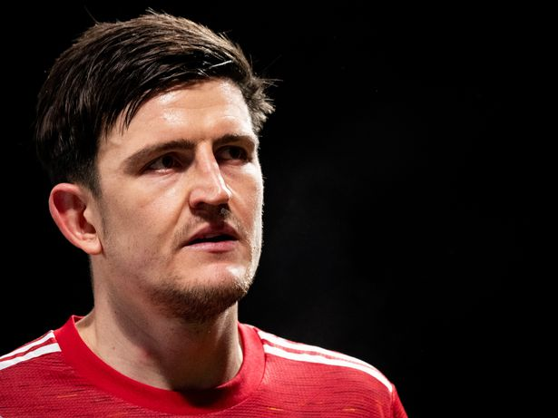 Maguire made his feelings known during the match