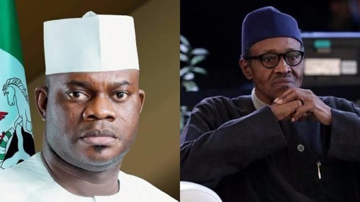 Yahaya Bello-President Buhari
