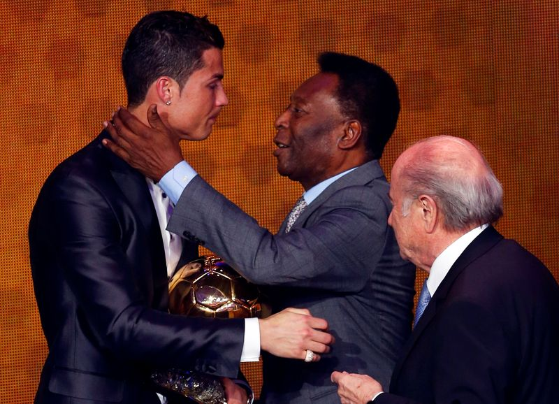 Ronaldo hails Pele after eclipsing the Brazilian's goal-scoring haul