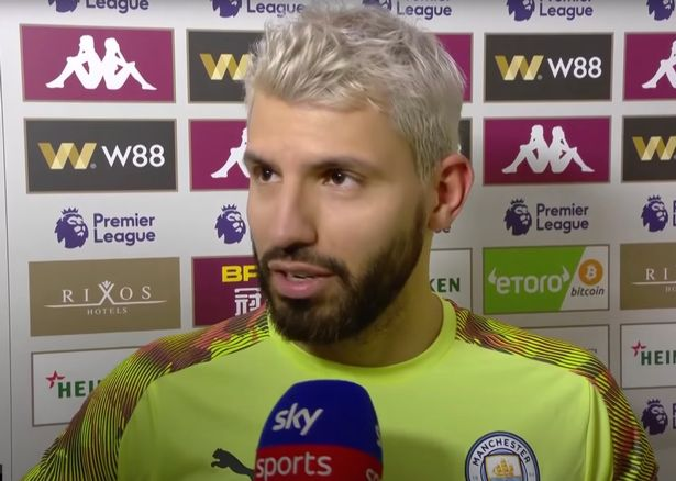 Aguero previously gave a glowing verdict on Chelsea