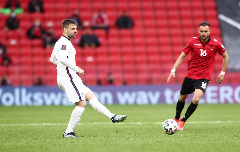 Shaw puts himself back in frame for Euros