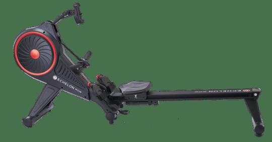 Echelon rower