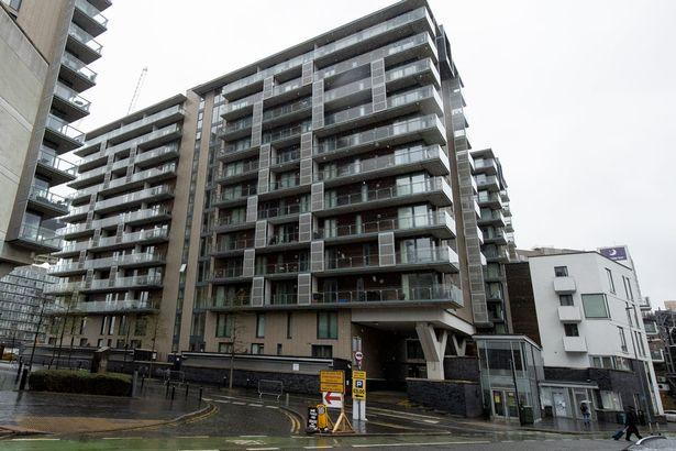 Spectrum Apartment block in Manchester
