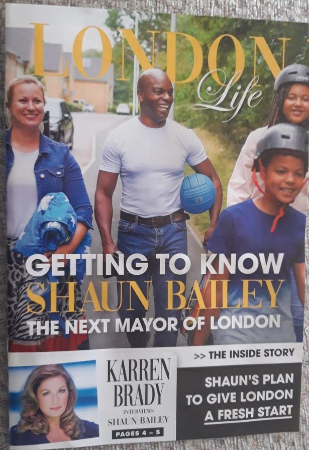 The glossy 'magazine' sent to thousands of Londoners