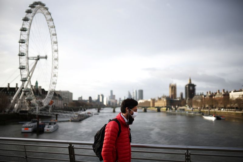 UK's Johnson urges caution as some lockdown measures ease