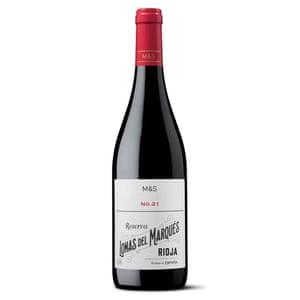 M&S no 21 Lomas del Marques Rioja Reserva 2014