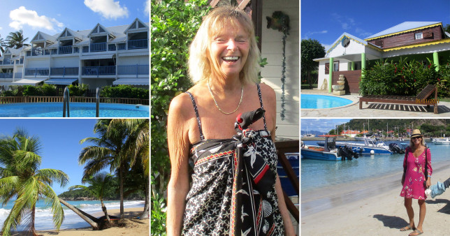 Holiday snaps from woman's Caribbean trip