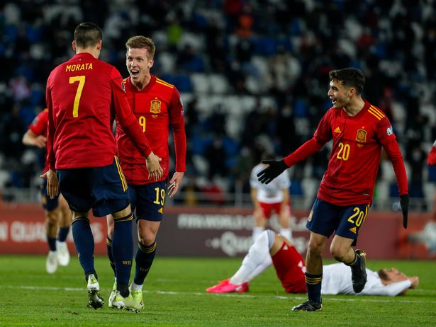 Dani Olmo's late goal completed Spain's comeback win over Georgia