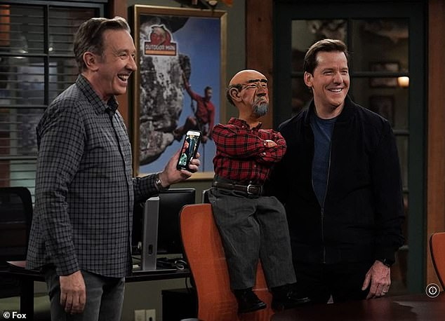 'Meatless Mike':The Emmy nomineeexecutive produces and stars as sporting goods store executive Mike Baxter/Tim Taylor in the ninth season of the sitcom Last Man Standing, which airs Thursdays on Fox