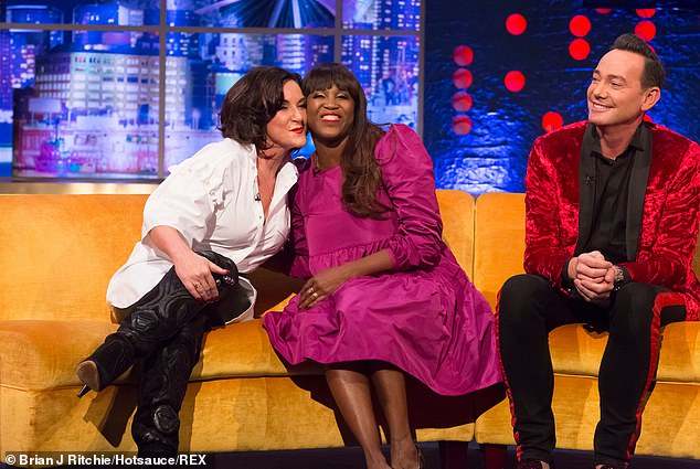 Judges:Appearing on Tuesday's Steph's Packed Lunch, the ballroom sensation, 30, said her beloved sister, 39, had needed to 'step away' from social media due to the level of abuse - with her and Shirley, 60, learning to rise above the criticism (above with Craig Revel-Horwood)