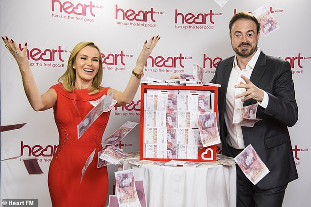 You could be a winner! They're fronting the biggest competition on UK radio which will see the station give away £1million pounds on-air