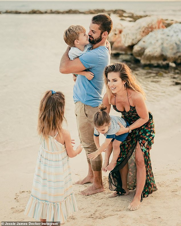 All three: They have Vivianne Rose, Eric II and Forrest Bradley; seen on the beach in the DR