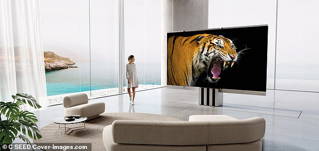 4k MicroLED technology, which is being touted by tech companies as the future of entertainment, creates amazingly vibrant colours and a stunning resolution